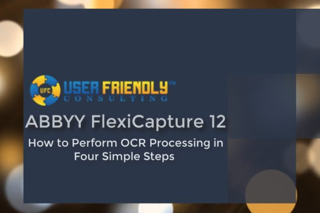 Thumbnail of ABBYY FlexiCapture 12- Four Simple Steps of OCR Processing video