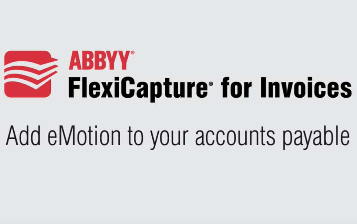 ABBYY FlexiCapture for Invoices- Accounts Payable Automation