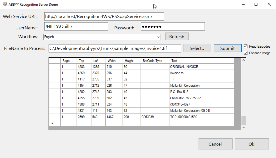 ABBYY RS WP Example Results
