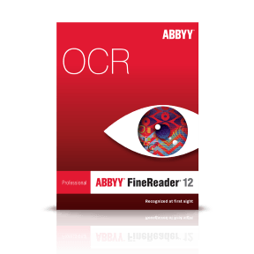 ABBYY FineReader Professional 12