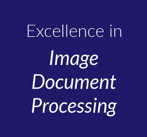 Excellence in Image Document Processing image
