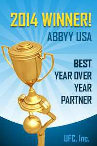 abbyy award to UFC® min