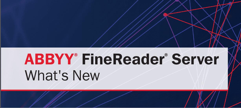 Cover image for ABBYY FineReader Server, logo provided by ABBYY