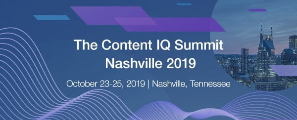 cover image for the content iq summit 2019 with abbyy usa