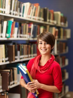 picture of girl in library for abbyy flexicapture abbyy recognition server