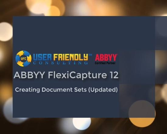 creating document sets in abbyy flexicapture