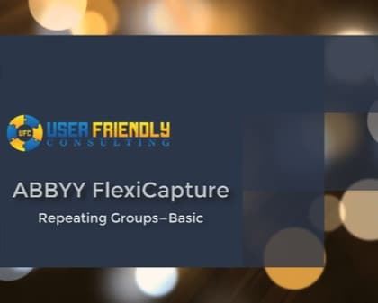 Thumbnail for ABBYY FlexiCapture - Repeating Groups in FlexiLayout video