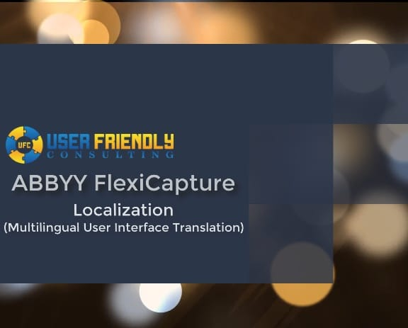Thumbnail for ABBYY FlexiCapture - Localization video