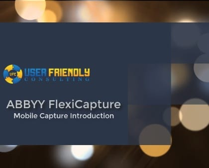 Thumbnail for ABBYY FlexiCapture - Mobile Capture Introduction video