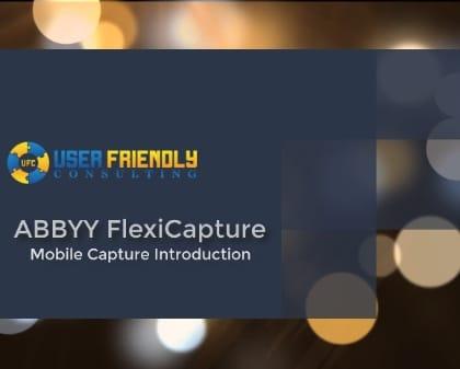 Thumbnail for ABBYY FlexiCapture - Mobile Capture Introduction video