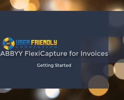 Thumbnail for ABBYY FlexiCapture for Invoices - Getting Started video