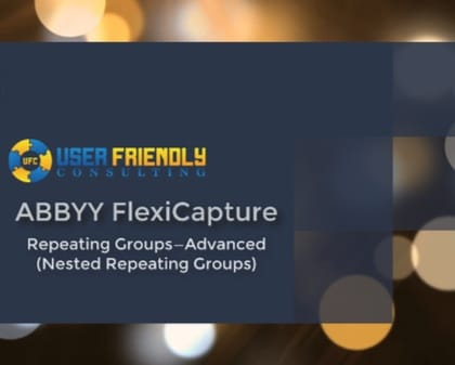 Thumbnail for ABBYY FlexiCapture - Nested Repeating Groups in FlexiLayout video