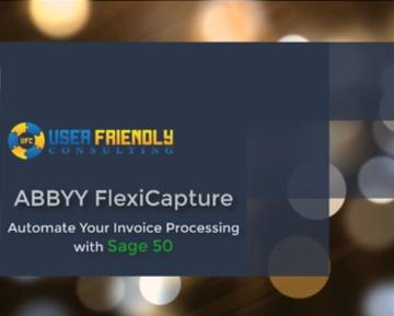 Thumbnail for FlexiCapture - Automate your invoice processing with Sage 50 video