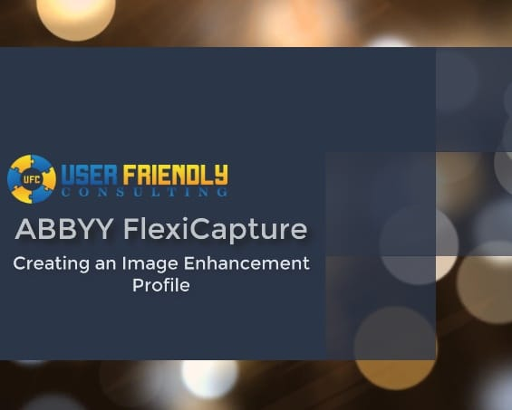 Thumbnail for ABBYY FlexiCapture - Creating an Image Enhancement Profile video