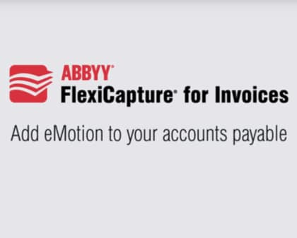 FlexiCapture for Invoices Introduction